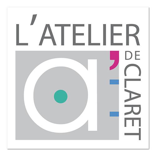 L'Atelier de Claret ∙ Anne-Marie Prat ∙ Design graphique et web