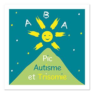 Pic autisme et trisomie ∙ Anne-Marie Prat ∙ Design graphique et web