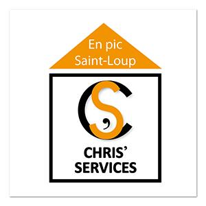 Chris' services ∙ Anne-Marie Prat ∙ Design graphique et web